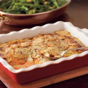 Root Vegetable Gratin with Gruyère