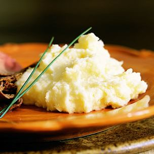 Mashed Potatoes with Parsnip and Horseradish