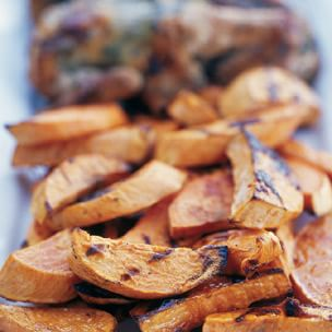 Honey-Lime Sweet Potatoes