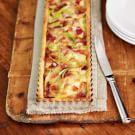 Potato, Green Onion & Bacon Tart