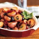 Potatoes with Olives and Sun-Dried Tomatoes