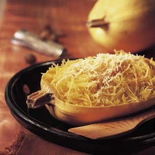 Spaghetti Squash with Brown Butter and Parmesan