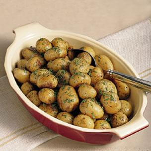 New Potatoes with Lemon Butter and Fresh Herbs