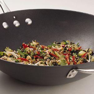 Stir-Fried Wild Rice