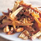 Parsnips and Sweet Potatoes with Hazelnuts and Brown Butter