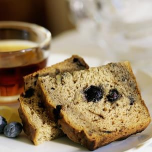 Sour Cream-Blueberry Bread