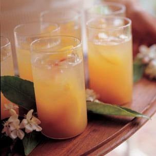 Peach Nectar Spritzers