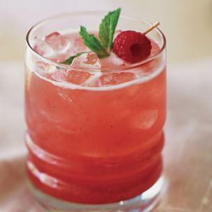 Raspberry-Mint Agua Fresca