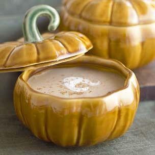 Chestnut Soup with Spiced Cream