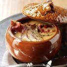 Butternut Squash Soup with Crispy Prosciutto
