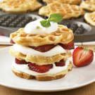 Waffled Pancake Napoleons