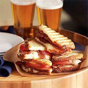 Cheddar, Bacon & Tomato Panini