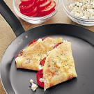 Black Pepper Crepes with Goat Cheese and Tomatoes