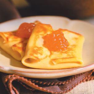 Cherry-Cheese Blintzes