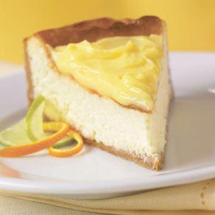 Triple-Citrus Cheesecake