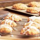 Iced Pumpkin-Raisin Cookies