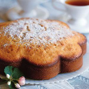 Spiced Crystallized Ginger Cake