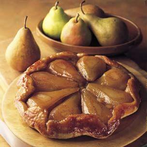 Tarte Tatin of Winter Pears