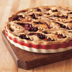 Cranberry-Apple-Orange Tart