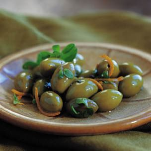 Olives with Orange and Marjoram