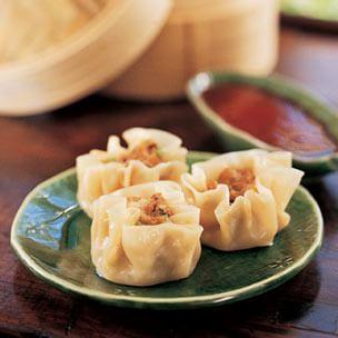 Steamed Pork and Shrimp Dumplings (Shao Mai)