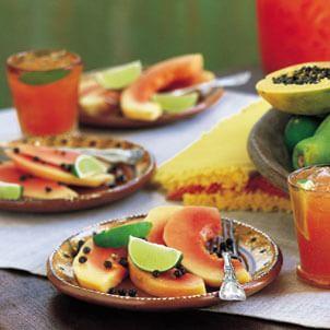 Chilled Papaya with Lime (Papaya Fría con Lima) | Williams-Sonoma
