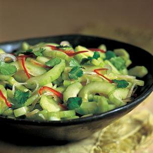 Thai Marinated Cucumber Salad