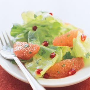 Ruby Grapefruit & Pomegranate Salad