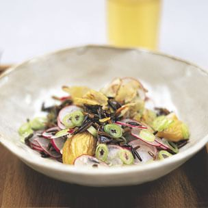 Wild Rice Salad with Chestnuts