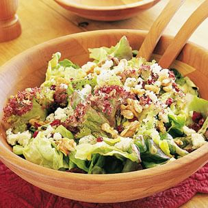 Fall Greens with French Vinaigrette