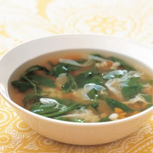 vegetable soup with parmesan and pasta stars this fresh pretty soup ...