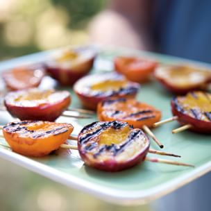 Nectarine and Apricot Skewers | Williams Sonoma