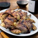 Duck with Red Wine Sauce
