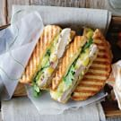 Chicken Panini with Gruyère, Tarragon and Artichoke Spread