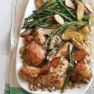 Spice-Scented Roast Chicken and Vegetables