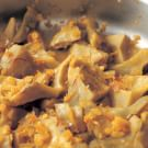 Artichoke Ragout with Garlic, Saffron and Orange Zest