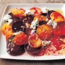 Roasted Beets with Orange and Herbed Goat Cheese