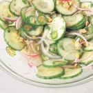 Spicy Cucumber Salad with Roasted Peanuts