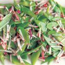 Snow Pea and Radish Salad
