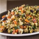 Grill-Roasted Vegetables with Basil Pesto