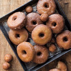 Spiced Cider Doughnuts | Williams Sonoma