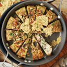 Artichoke Frittata with Crispy Pecorino