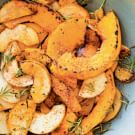 Butternut Squash and Pears with Rosemary