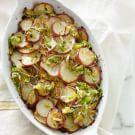 Potato Gratin with Leeks and Thyme