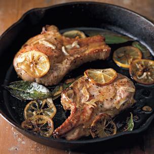 Recipes seared pork chops