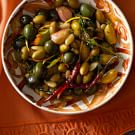 Green Olives with Raw Almonds