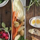 Garlic Aioli with Garden Vegetables