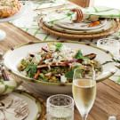 Farro and Spring Vegetable Salad with Feta
