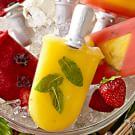 Pineapple-Mint Ice Pops