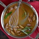Madeira-Sage Turkey Gravy